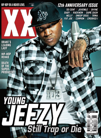 XXL Magazine 12th Anny (Sept. 09) - Young Jeezy Cover