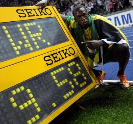 Bolt Sets WR 9.58