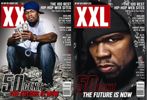 50Cent_XXLMagazine_DEC-JAN 09 Issue_DoubleCoverIssue