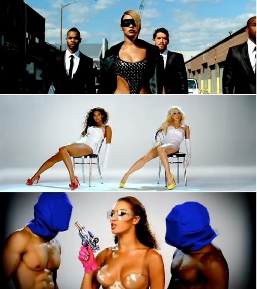 B & Gaga_video_phone_shoot