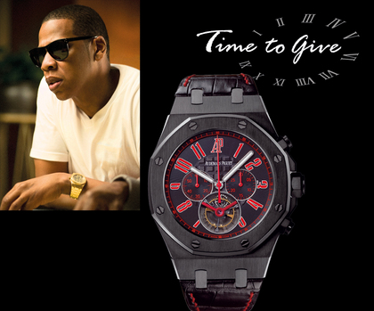 Limited Edition Jay Z Audemars Piguet Watch Auctioned Off For 217k