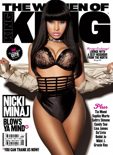 Nicki Minaj Covers KING Magazine (March/April 2011)